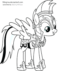My Little Pony Coloring Pages Rainbow Dash Stirring Human