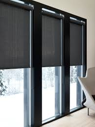 Motorized Curtain Track India by These Roller Blinds Have Been Installed Behind A Pelmet To Hide
