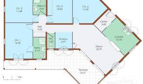 maison plain pied 5 chambres plan maison plain pied 5 chambres con plan de maison plain pied 3