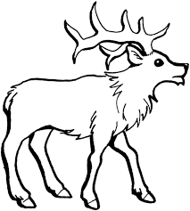 Perfect Reindeer Coloring Page 95 On Download Pages With