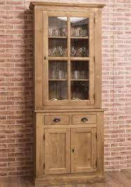 aktiv moebel de schmales landhaus buffet vitrine glas