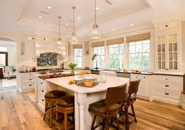satco lighting for a style kitchen with a tray ceiling and