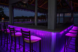 led outdoor bar lighting tropical patio st louis by