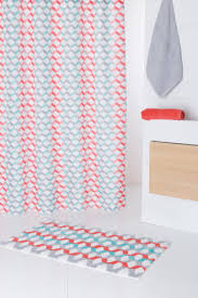 textil duschvorhang cube groß badezimmer vorhang stoff