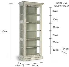 Rustic Glass Cabinet French Country Design Image 2