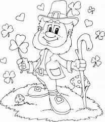 St Patricks Day Printable Coloring Pages For Kids