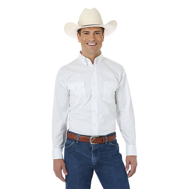 Men's Wrangler Painted Desert White Shirt -Big/Tall - 28392