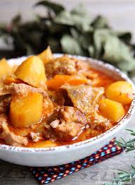 cuisiner du veau sauté de veau facile aux pommes de terre et carottes