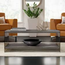 100 Living Room Table Modern Mercury Row Lassiter Coffee With Tray Top