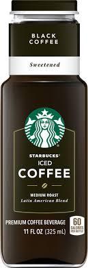 StarbucksR Black Sweetened Iced Coffee 11 Fl Oz Reviews