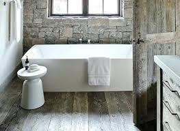 Hardwood Floor Ideas Bathroom With Rustic Flooring Border Design
