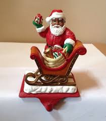 Dillards Christmas Decorations 2014 by African American Santa Claus Christmas Stocking Holder Christmas