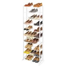 30 Pair Shoe Rack Clothes & Shoe Storage