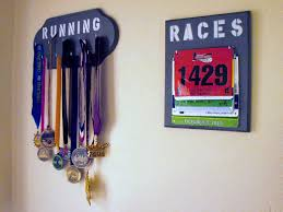 What Do You Hang Your Medals Or Bibs On