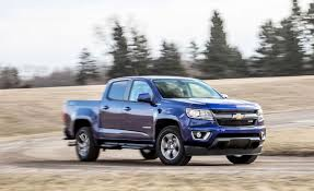 2017 Chevrolet Colorado V-6 8-Speed Automatic 4x4 Crew Cab Test ...