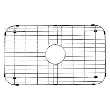 vigo 26 in x 14 375 in kitchen sink bottom grid vgg2514 the