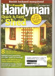 12x16 Wood Shed Material List by Decor Fantastic Storage Shed Plans With Family Handyman Shed