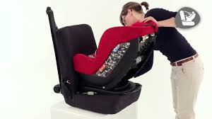siege axiss isofix bébé confort how to install the milofix