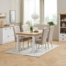 polsterstuhl stenlille weiß beige