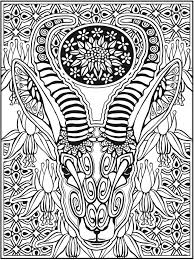 Welcome To Dover Publications Creative Haven Animal Calaveras Coloring Book By Mary Agredo And Javier