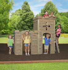 Backyard Castle Playhouse A Diy Playhouse Looks Impressive With Fake Stone Exterior Paneling Build A Beautiful Playhouse Hgtv Building Our Backyard Castle Wood Naturally Emily Henderson Best Modern Ideas On Pinterest Kids Outdoor Backyard Castle Plans Plans Idea Forget The Couch Forts I Played In This As Kid Playhouses Playsets Swing Sets The Home Depot Pirate Ship Kits With Garden Delightful Picture Of Kid Playroom And Clubhouse Fort No Adults Allowed
