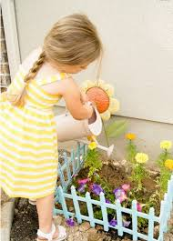 Quick And Colorful Kids Gardens Growing Room Live Oak