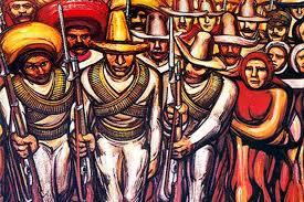 la marcha by david alfaro siqueiros arte mexicano pinterest