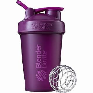 BlenderBottle Classic Protein Shaker - Plum, with Loop, 20oz