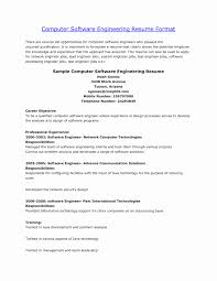 Sample Resume For Information Technology Engineering Students Valid Example Objective Fresh Software Engineer Best