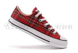 converse all plaid plaid converse all low scotland tops canvas shoes