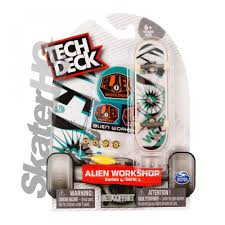 Tech Deck Finger Skateboard Tricks by Tech Deck Alien Workshop Split Vision Series 4 Skater Hq