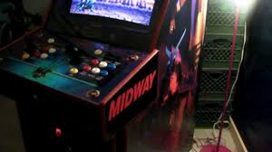 Mortal Kombat Arcade Cabinet Plans by Side Art For The M A M E Cabinet Youtube