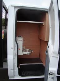 Crew Cab Conversion Van Tool Storage 2