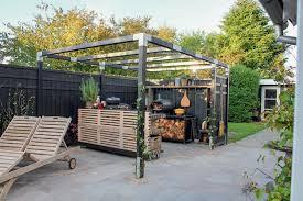 outdoorküche planen tipps rund um den freiluft kochplatz