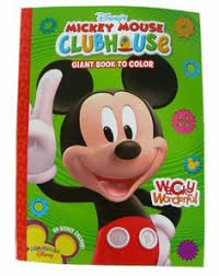 Disney Mickey Mouse Clubhouse Big Fun Book To Color Silly