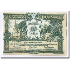 100 Ockert 662216 Banknote Austria N Gemeinde 10 Heller ND
