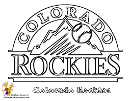 Printable Baseball Coloring Pages Mlb 12 On Free Online With