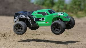ECX 1/10 Circuit 2WD Stadium Truck Brushed RTR, Green | Horizon Hobby