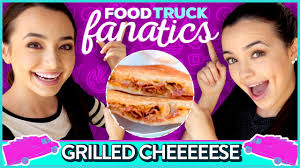 GRILLED CHEESE CHALLENGE   Food Truck Fanatics W/ The Merrell Twins ... Food Truck Cater Archives Grilled Cheese Trucks Roxys Brick And Mortar Greepans Grater Ladybug Blog Exploits La Street Fest For Haiti Roaming Hunger The Home Facebook The Melty Buzz Original Super Long Line Up Moms Vanfoodiescom Menu