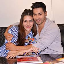 Varun Dhawan and Kriti Sanon s candid pics from Box fice India