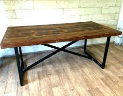 Diy Industrial Dining Table Round Room Tables