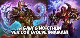 Overload Shaman Deck Frozen Throne by In Depth Guide No Cthun Vek U0027lor Evolve Shaman Legend