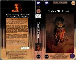 Halloween 2007 Film Soundtrack by The Horrors Of Halloween Trick U0027r Treat 2007 Sales Sheet Vhs