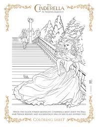 Cinderella Coloring Page Free Printable