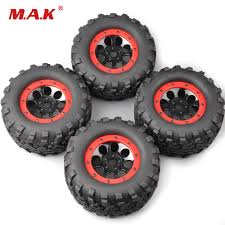 100 Bigfoot Monster Trucks 4PcsSet 160mm 18 Truck TiresWheel 17mm Hex 4