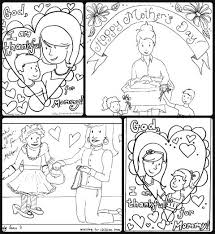 Mothers Day Download 4 Free Coloring Sheets In One