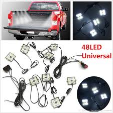 2019 Truck Bed White Led Lighting 48LED Light Kit For Chevy Dodge ... Aura Led Truck Bed Strip Lighting Kit Rgbw Multicolor Full 2 X 60 Smart Rgb Lights W Soundactivated Function Truxedo Blight Battery Powered Light Bluewater Under Rail Standard Bw Heavy Hauler 2pcs Rock 48 Leds 8 White Square Switch Xprite How To Install Access Youtube Multi Color Super Bright Work 8pcs 2009 2014 Ingrated F150ledscom Amazoncom Homeyard 2pcs Tailgate Cargo 8pc Waterproof Pickup Accsories