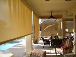 Roll Up Patio Shades by Patio Roll Up Sun Shades