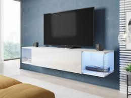 details zu tv lowboard rack sky tv tisch tv schrank modern design hängeschrank wohnzimmer