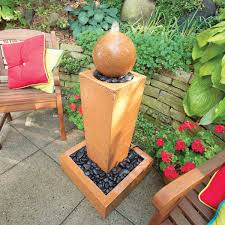 How To Cast Concrete Fountains The Backyard Garden Concrete